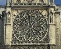 ノートルダムのバラ窓