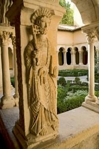 サン・ソヴール大聖堂の回廊