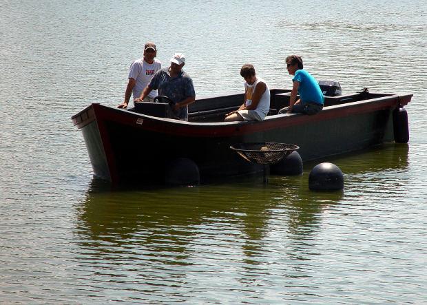 ボート遊び