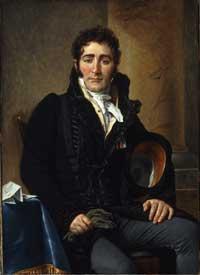 ダヴィッド「トレンヌ卿の肖像」