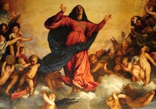 ティツィアーノ「聖母被昇天」