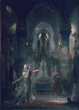 モロー「ヘロデ王の前で踊るサロメ」