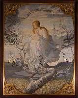 セガンティーニ「生命の天使」