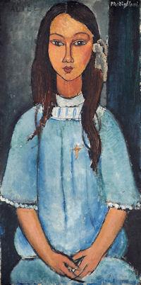 モディリアーニ「アリスの肖像」