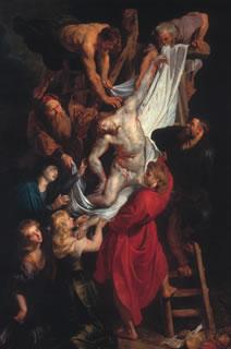 ルーベンス「キリスト降架」