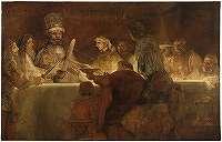 レンブラント「クラウディウス・シウィリスの謀議」