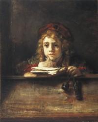 レンブラント「ティトウスの肖像」