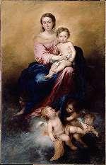 ムリーリョ「ロザリオの聖母」