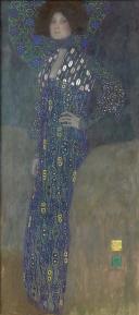 1.グスタフ・クリムト《エミーリエ・フレーゲの肖像》