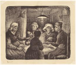 0515334 Vincent van Gogh De aardappeleters