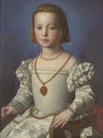 Agnolo BronzinoRitratto di Bia De' MediciINV.1890 N.1472